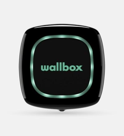 Купить Зарядная станция для электромобиля Wallbox Pulsar Type 2 | 22kW | с кабелем 5м (черный) в интернет-магазине умной техники ALLSMART в Минске