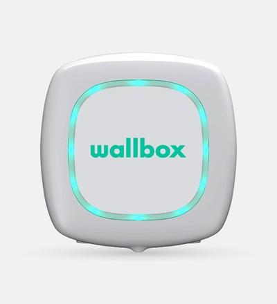 Купить Зарядная станция для электромобиля Wallbox Pulsar Plus Type 2 | 22kW | с кабелем 5м (белый) в интернет-магазине умной техники ALLSMART в Минске