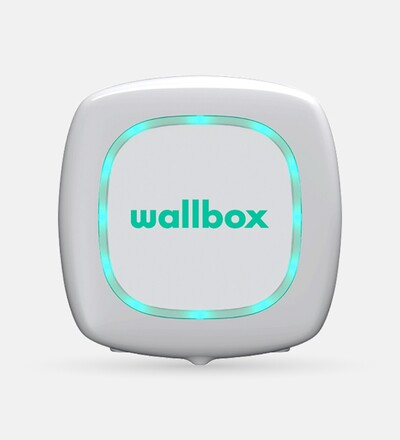 Купить Зарядная станция для электромобиля Wallbox Pulsar Type 1 | 7,4kW | с кабелем 5м (белый) в интернет-магазине умной техники ALLSMART в Минске