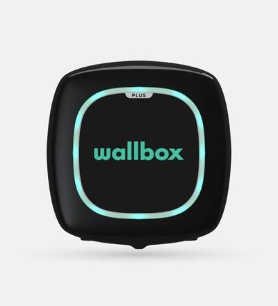 Купить Зарядная станция для электромобиля Wallbox Pulsar Plus Type 2 | 22kW | с кабелем 5м (черный) в интернет-магазине умной техники ALLSMART в Минске