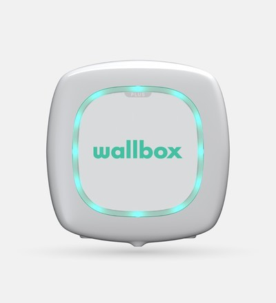 Купить Зарядная станция для электромобиля Wallbox Pulsar Plus Type 1 | 7,4kW | с кабелем 5м (белый) в интернет-магазине умной техники ALLSMART в Минске
